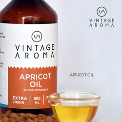 Vintage Aroma Cold Pressed Apricot Oil, Packaging Size: 500 Ml