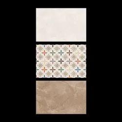 Ceramic Mosaic Multicolor 35x45 CM Digital Wall Tiles, Size: 30 * 45 (cm)