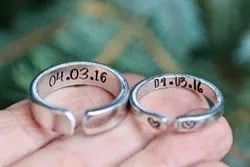 Custom Jewelry For Couples , Dates