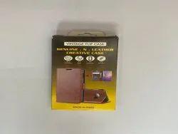 Brown Leather Vintage Mobile Flip Case