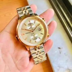 Formal Analog Fossil Watch For Men