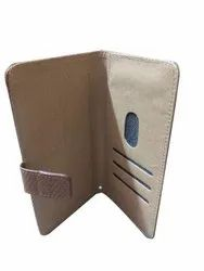 Silicon Brown Mobile Phone Flip Covers