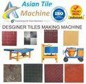 Designer Tiles Making Machinery