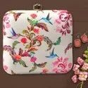 Floral Printed Ladies Clutch Bag