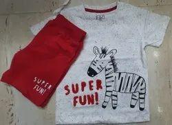 Kids T Shirt And Shorts Set