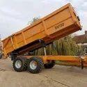 Heavy Duty Tractor Trolley