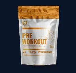 Fruit Punch Flavor Pre Workout