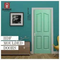 Dormak DK-4PAT 4 Panel Arch Top Decorative Moulded Wooden Door