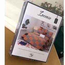 Incense Album Polyster Designer Bedsheet Set