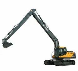 24500 kg Hyundai 245LR Smart Plus Construction Excavator, Maximum Bucket Capacity: 0.52m3 GP (SAE Heaped)