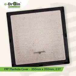 350mm X 350mm FRP Square Manhole Cover