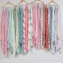 Hand Block Printed Scarf For Girls