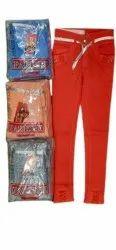 Red Ladies Slim Fit Denim Jeans, Size: 28