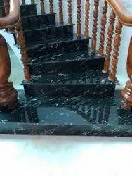 Pan India Black Marcino Granites, Slab, Thickness: 15-20mm