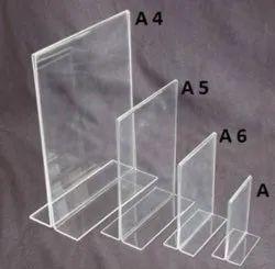 Acrylic Paper Holder