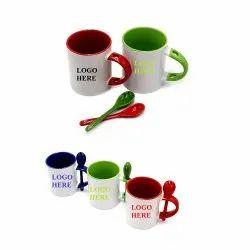 Sublimation Inner Color Coffee Mug 350 Ml