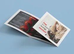 2 Days Tri Fold Square Brochure Design Services