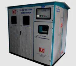 3MVA 3-Phase Dry Type Unitized Substation