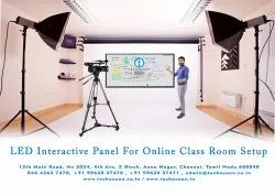 LED Interactive Panel For Online Class