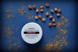Apricot Face And Body Scrub, For Personal, Packaging Size: 100 Gm,50 G