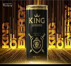 Mix Fruit Turkey King Legend Energy Drink, Packaging Size: 250 Ml