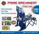 Paper Plate Single Die Machine