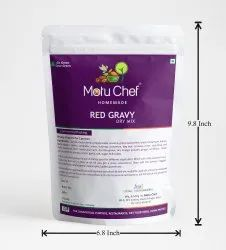 Onion & Garlic Red Gravy Dry Mix, 500 Grams, Packaging Type: Packet