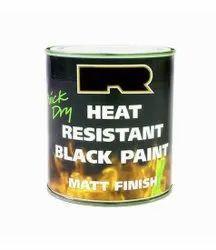 Matt 5 L Heat Resistant Black Paint, Metal, Liquid