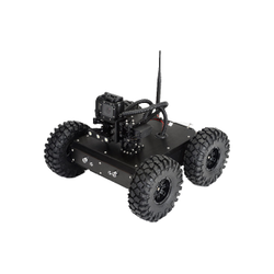Fictional Devices Aluminium Alloy Surveillance 4WD Robot, For Spy, Computerized