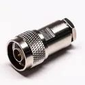 N Male Clamp Connector for Low Loss LMR400 Cable