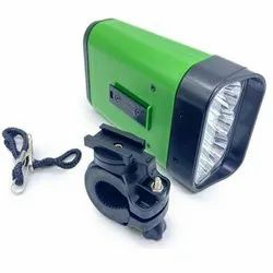 Plastic Cool White Bicycle Motor Cycle Led Light (Random Colors)
