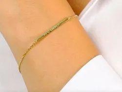 Personalized Tiny Name Bracelet