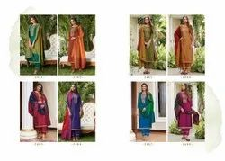 Party Wear Stitched Rajdhani Fancy Silk With Value Adition Work Readymade Salwar Suits