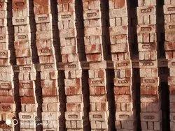 Bricks Rectangular Rectangle Construction Red Brick, Size: 180x105 Mm