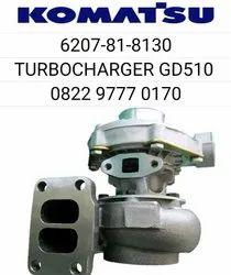 Komatsu Motor Grader Gd 511 Spares Turbo Charger 6207-81-8130