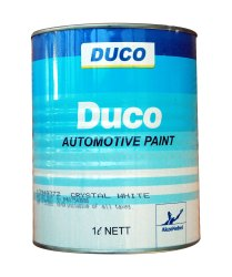 High Gloss White Duco Automotive Paint, Liquid, Packaging Size: 1 Litre