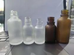 Frosted Essential Oil Bottle