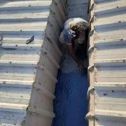 Rainwater Gutter FRP Coating