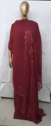 Party Wear Unstitched fabric Designer Georgette Suit