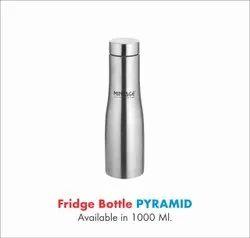 Stainless Steel Fridge Water Bottle-1000 Ml Pyramid