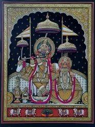 Govind Dev Ji 3D Painting