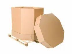 Corrugated Octabin Box
