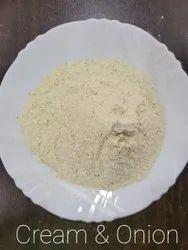 Cream And Onion Chips Masala