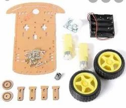 2 wheel driver for robot car chassis set