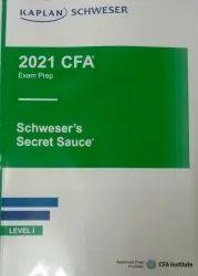CFA  2021 Books