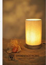 Smokestack Works LED Round Decorative Table Lamp, For Home