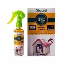 草药犬舍喷雾为蜱,跳蚤,虱子和螨虫
