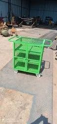 customized-ms-wire-mesh-trolley