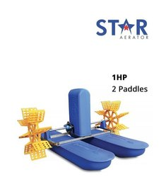 Star 1 HP 2 Paddle Wheel Aerator, For Aquaculture