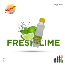 White Bottle Shlowin Fresh Lime Drink, Packaging Size: 200 ml